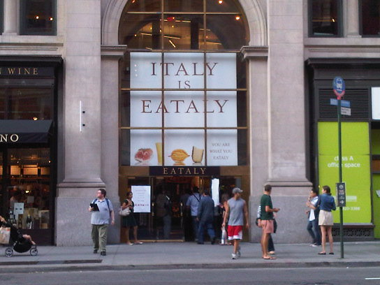 EATALY NYC: Open Today!
