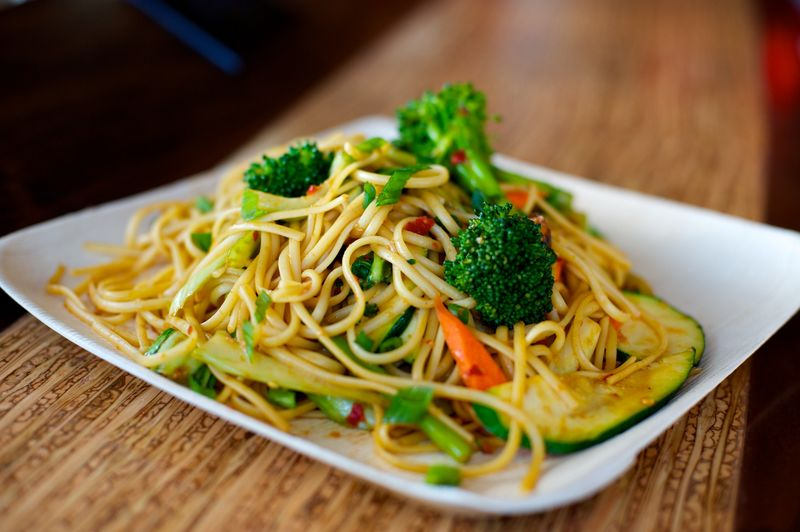 Spicy Garlic Noodles