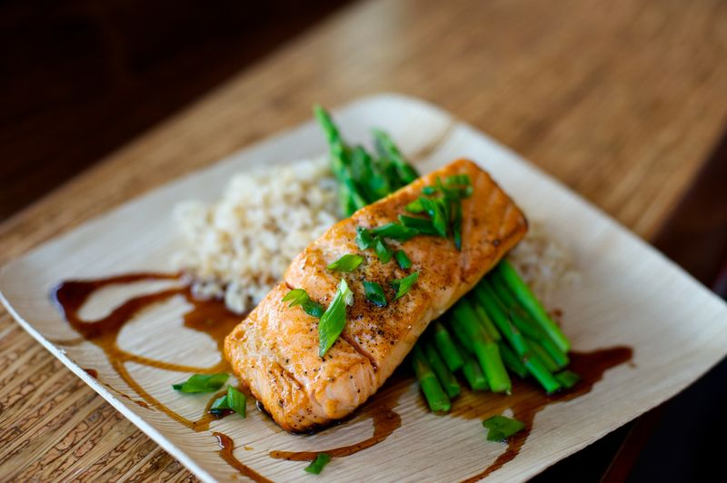 5 Spice Glazed Salmon 2